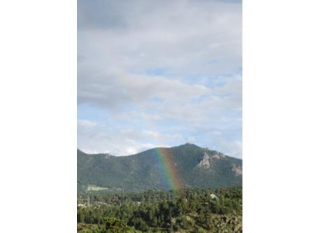 Rainbow in Estes Park