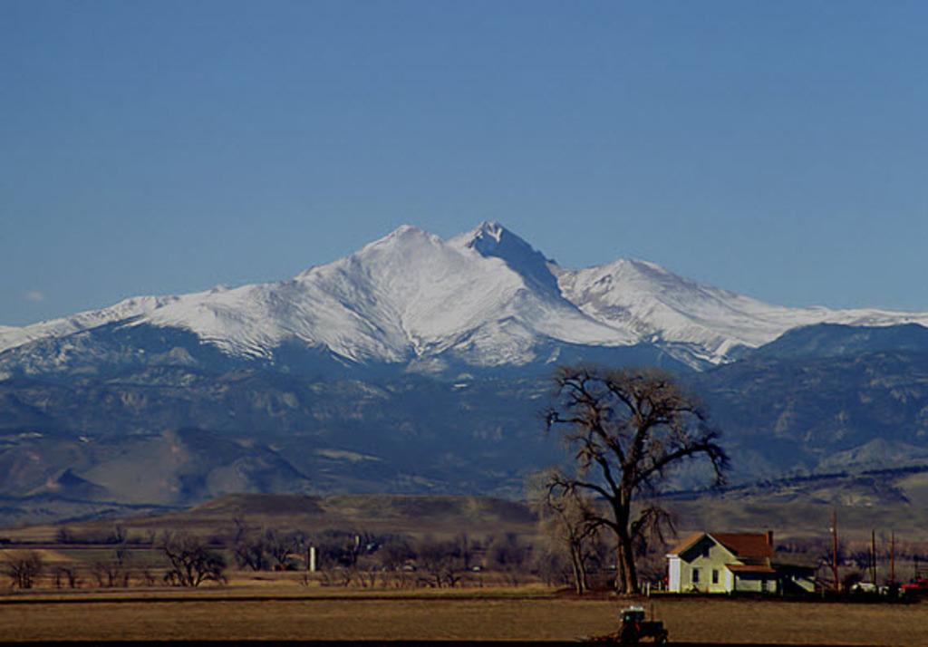 Long's Peak (a 14-er)