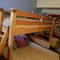 Guest room has big bunkbeds--lots of space.