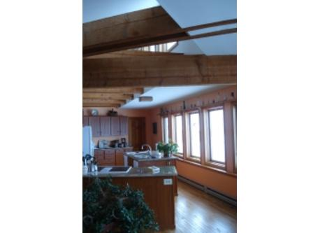 kitchen view to pantry