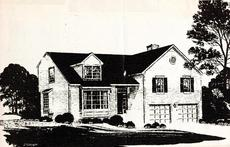 Drawing of front
