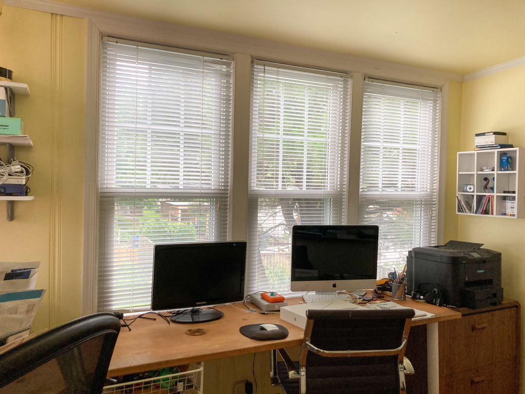 Office 1 of 2 (note that it is only accessible through bedroom 2