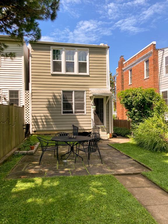 Backyard with patio