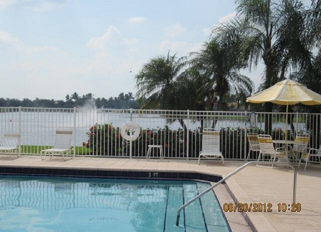 One of three pools on property