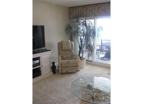 Other Side of living room with recliner and entertainment center