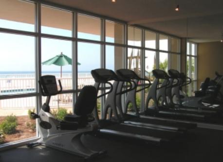 Well Equipped Work Out Room
