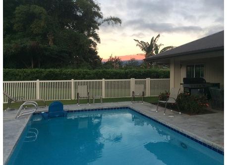 A beautiful sunrise on Mauna Kea.