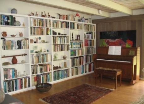 lanai (gallery cum library)