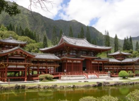 Byodo-In Temple.  Magnificent and serene.  A must-see.