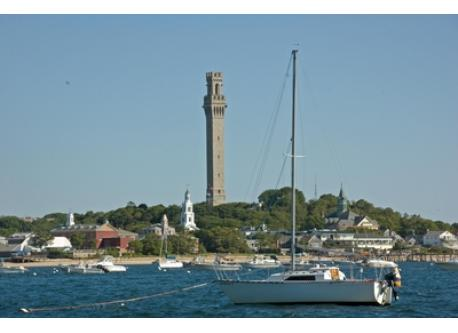 From our boat on Provincetown Harbor