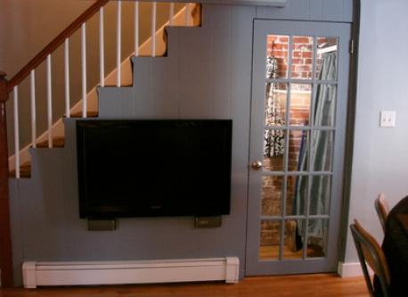 1st floor living room - Kitchen level