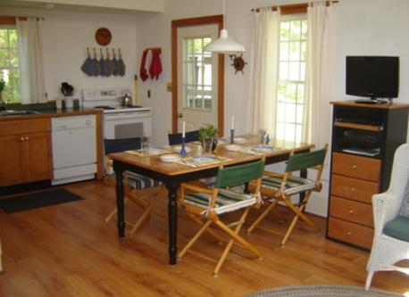 Dining/Kitchen Area, Cable TV, DVD Player