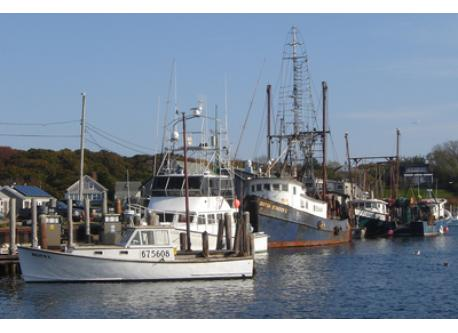 Fishing Boats in Menemsha Harbor