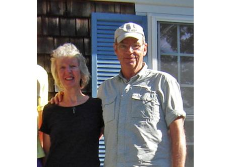 Brian & Caroline Giles, the Owners