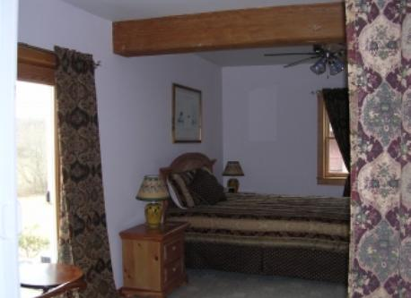 Guest Bedroom, with private full bath and deck