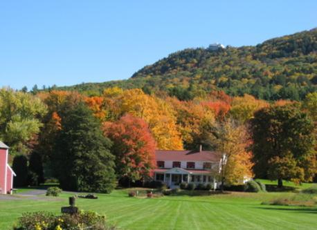 Fall foliage in western New England