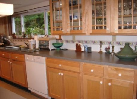 Modern well-equipped kitchen with dishwasher