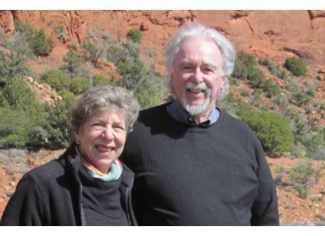 Roberta and Jerry in Sedona, AZ