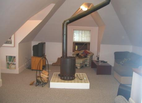 Attic and extra bedroom