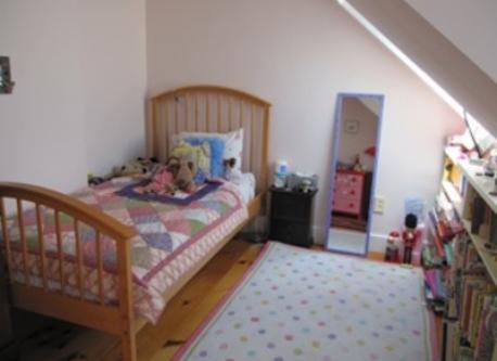 child's bedroom, upper floor