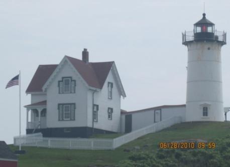 lighthouse near by