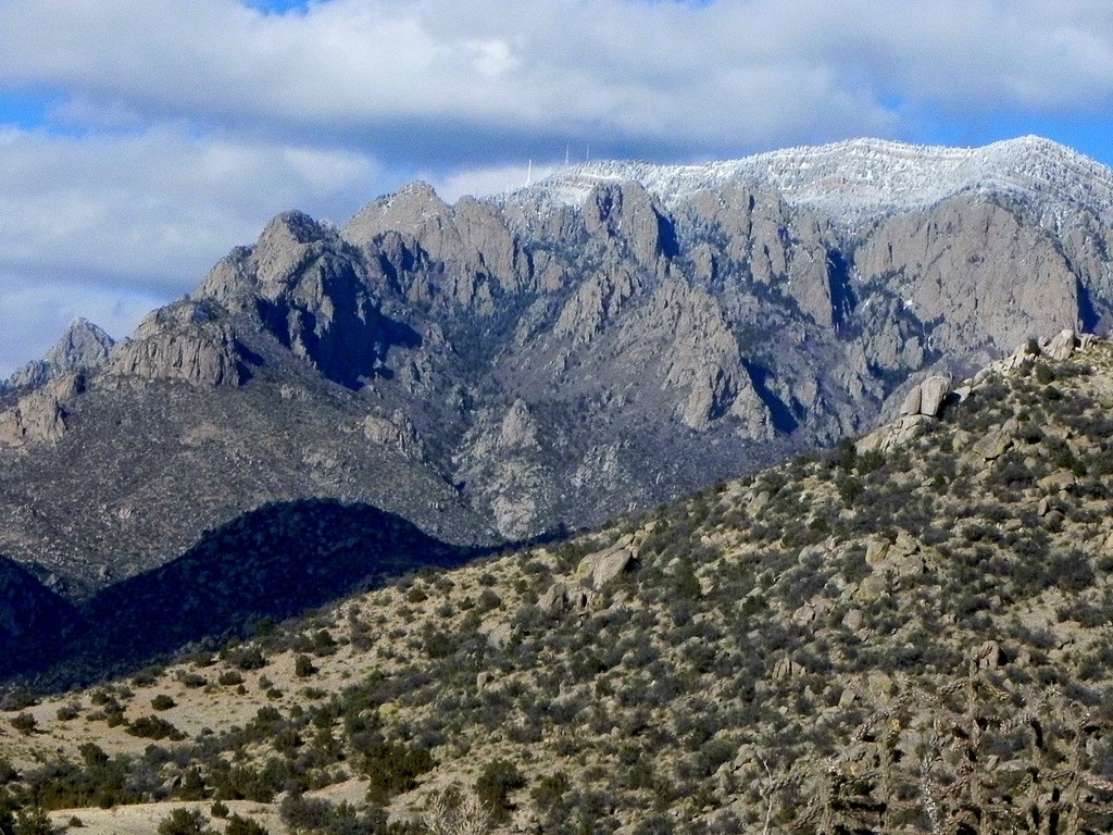 Off our Backyard - Sandia Mountains
