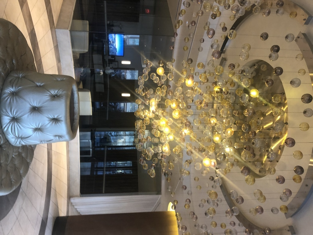 Beautiful and secure lobby entrance to our luxury building