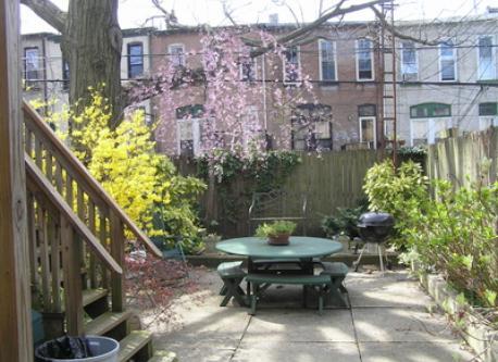 garden in April