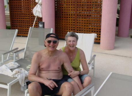 Ray and Judy in Mexico