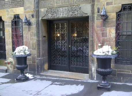 Entrance of our historic building