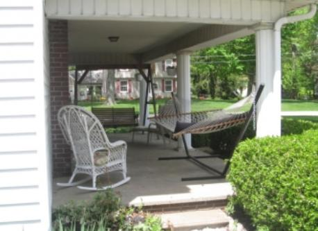 house side porch