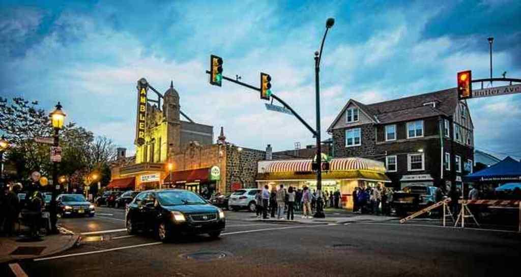 First Friday street fair downtown Ambler