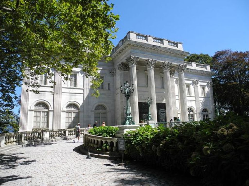 Marble House, one of Newport's famed Gilded Age mansions