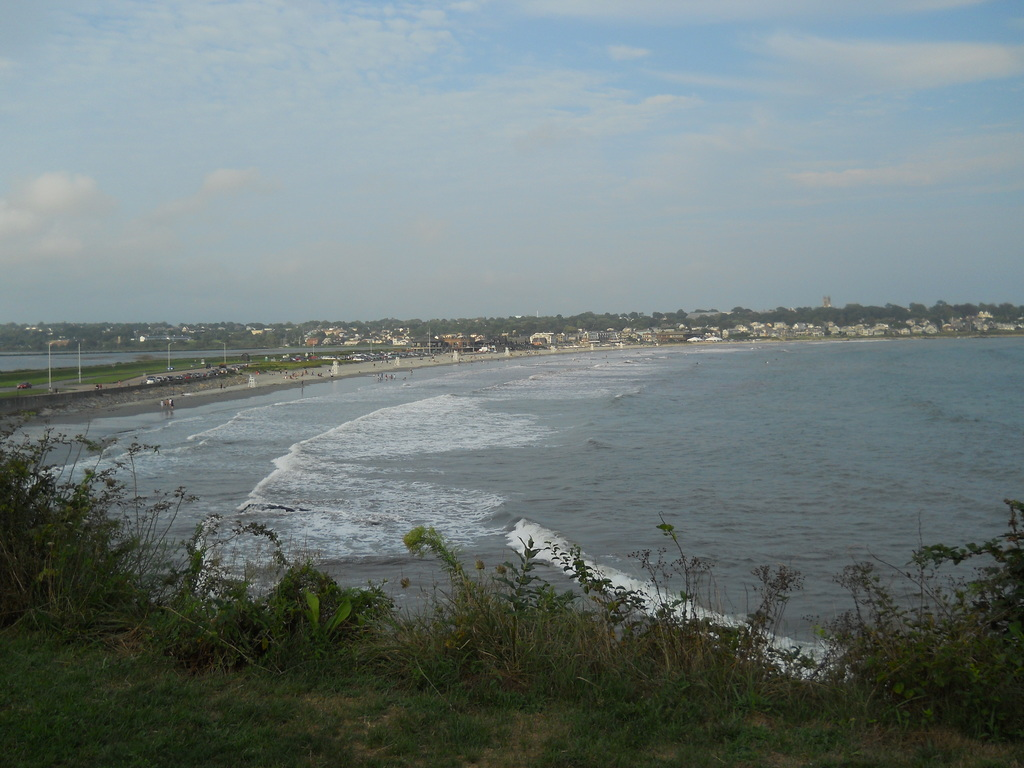 Easton's Beach, a half-mile from our house
