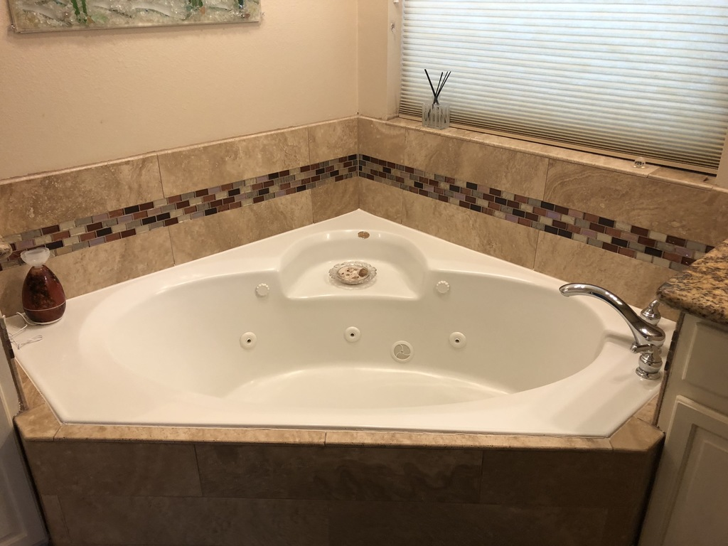 Jacuzzi Tub Master Bath, plus bidet