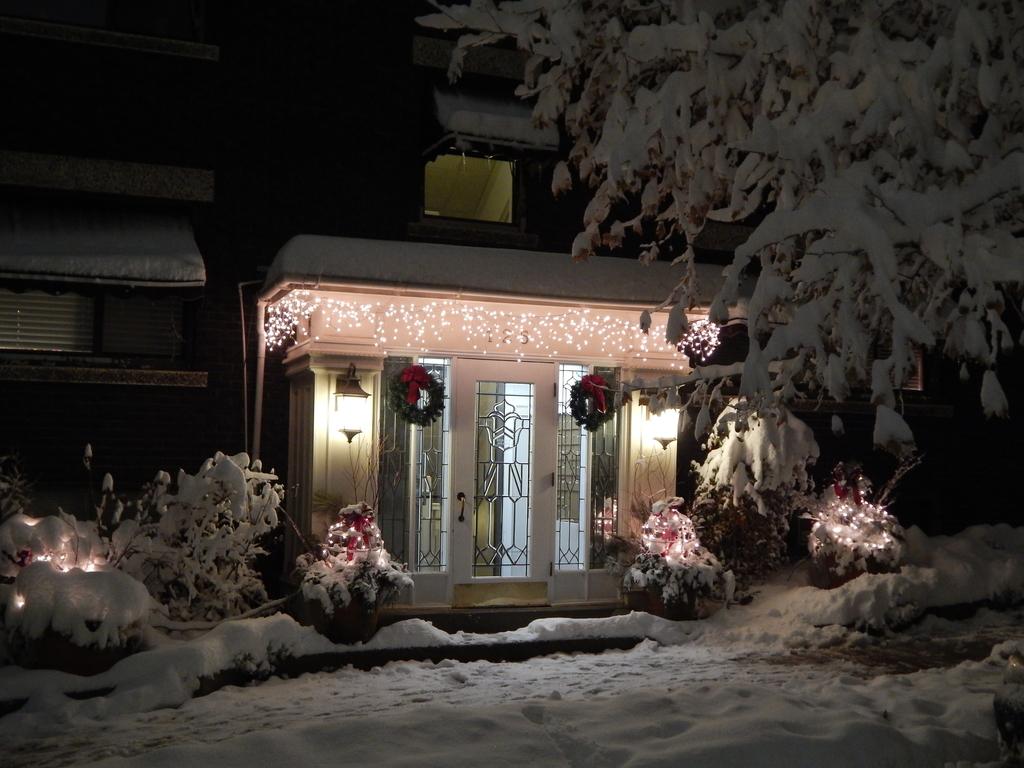 Wintery Entrance