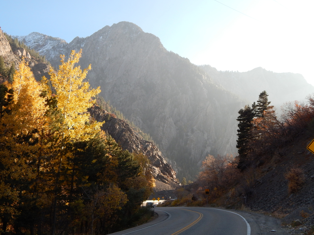 In Little Cottonwood Canyon