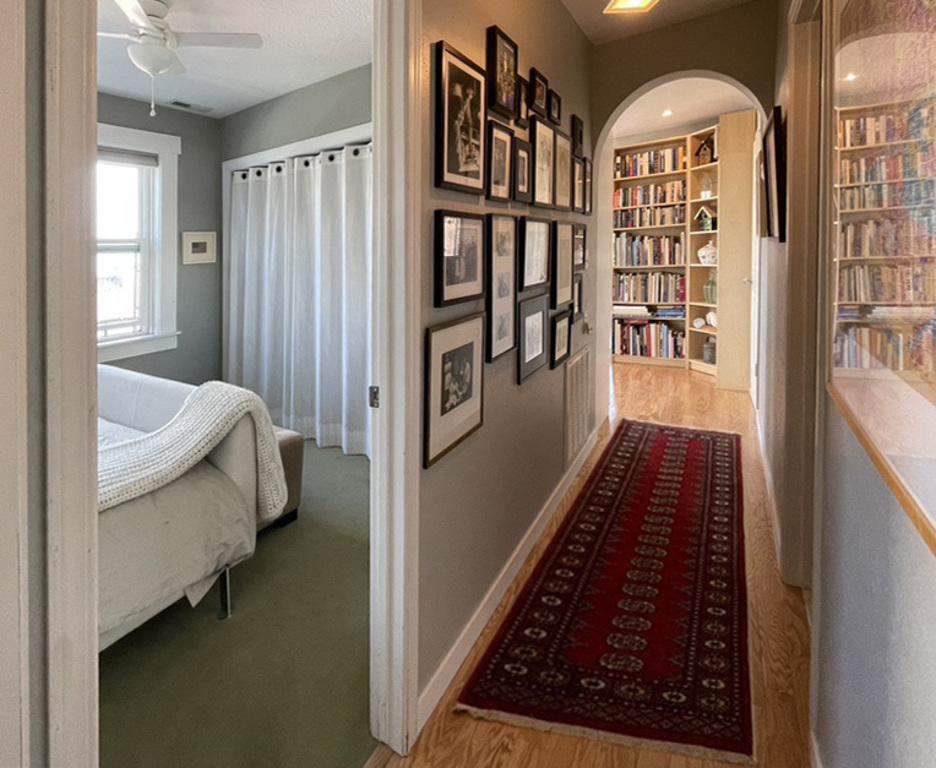 Hall and Bedroom doorway