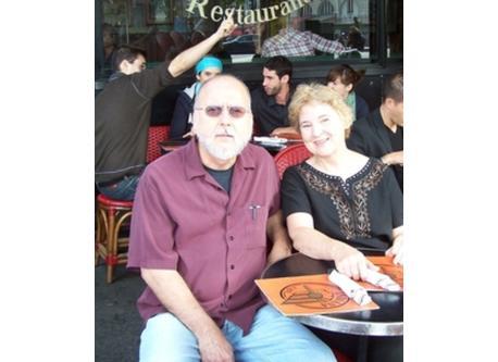 Estelle and Gary in Paris 2009