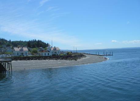 Mukilteo public beach within minutes of our home.