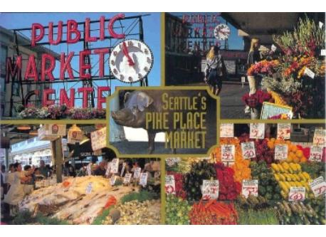 Pike Place Market is one of Seattle's premiere attractions all year long.
