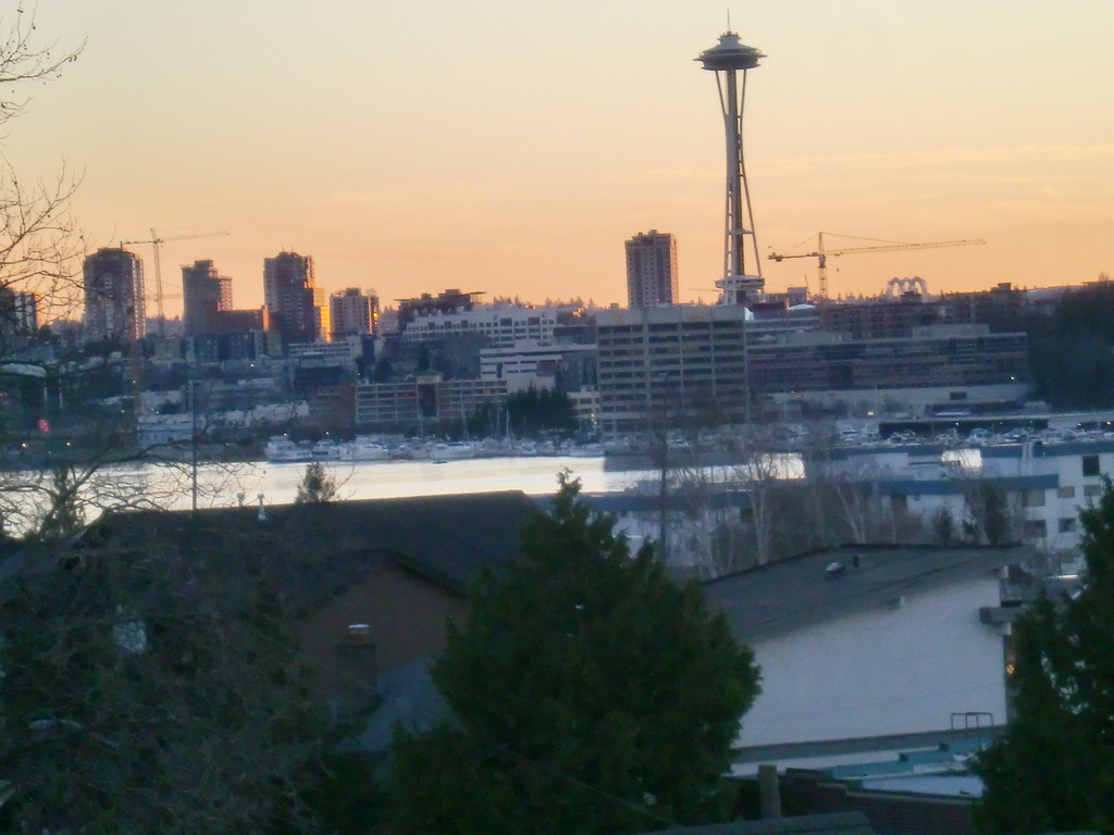 Beautiful Sunsets and views of Seattle's landmark Space Needle