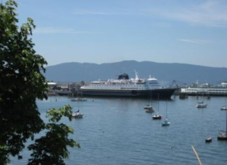 Alaska ferry in Bellingham.