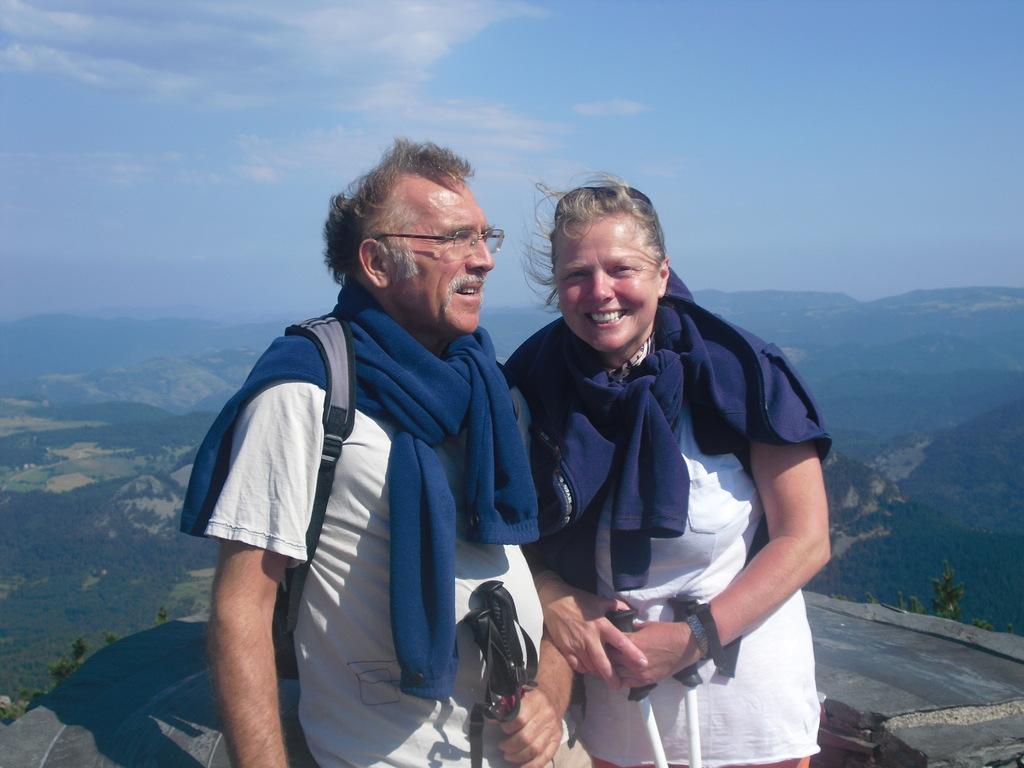 We at Mount Mezenec,France