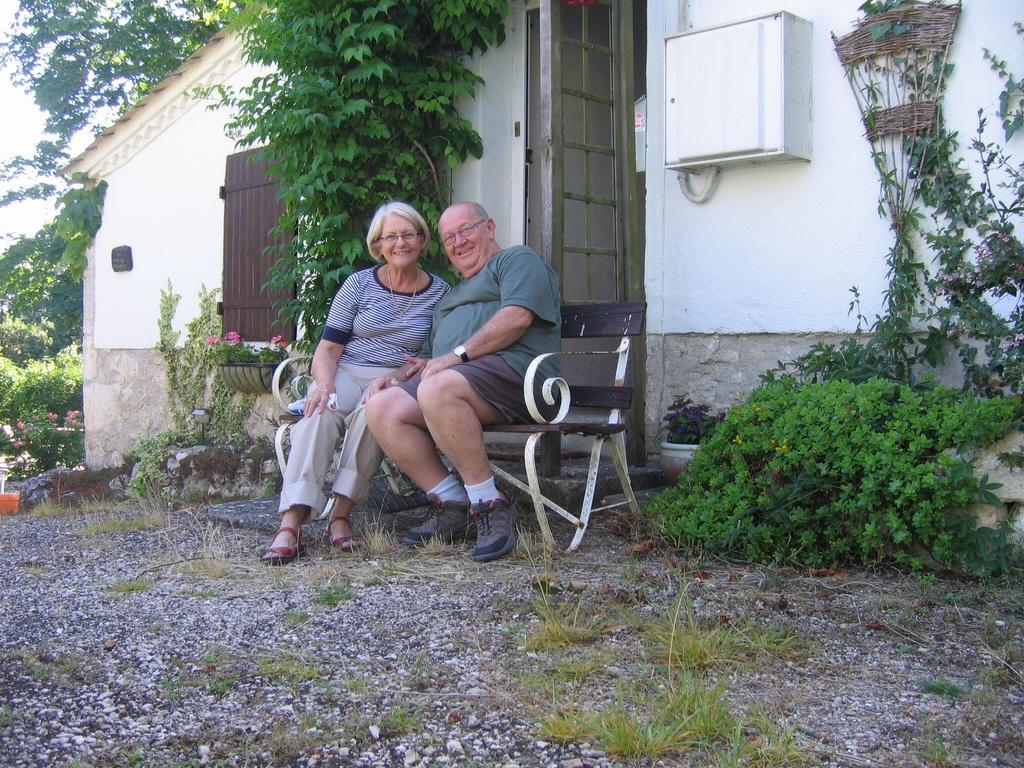 Carol & Gary in France
