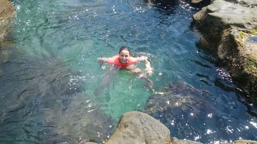 Swimming in the Washing Machine at Coalcliff