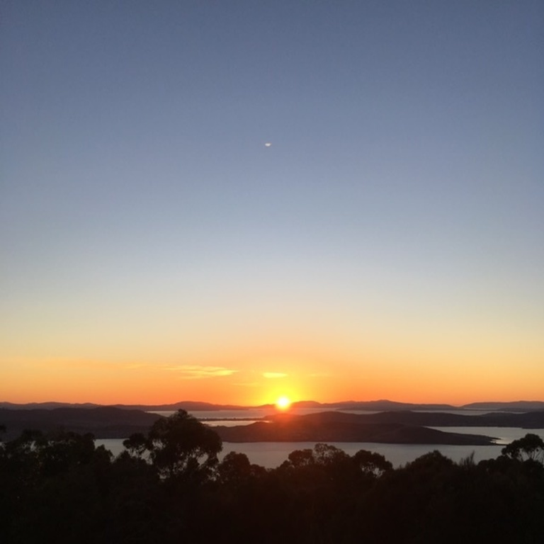 Sunrise from Mount Nelson