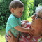 Lieve and grandchild Alexander