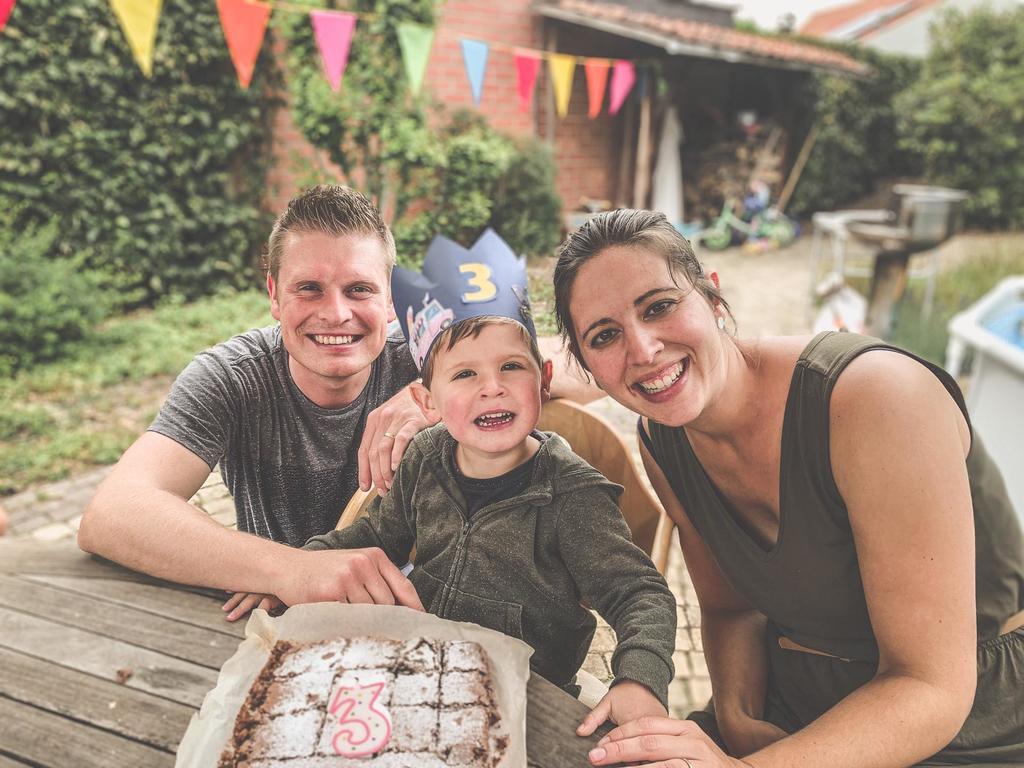 Tom, Alexander and Rieke (my daughter)