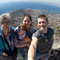 Lieve with daughter Rieke, Tom and grandchild Alexander in Kaapstad 2018